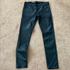 Adriano goldschmied 26 blue skinny ankle jeans